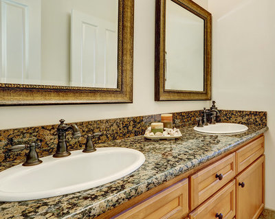 Bathroom countertops bathroom vanity tops orlando florida for Bathroom remodel orlando