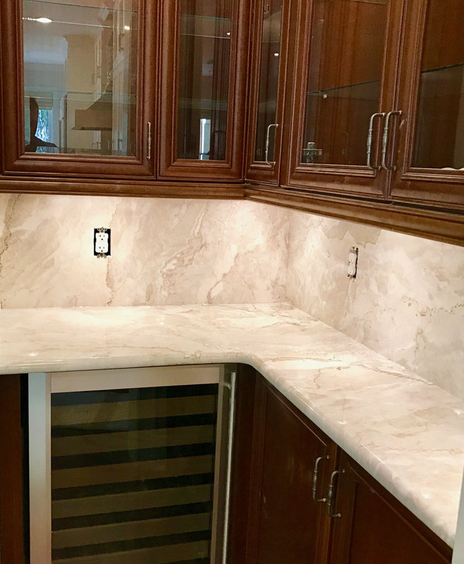 Dolce Vita Quartzite Countertops In Windermere Fl