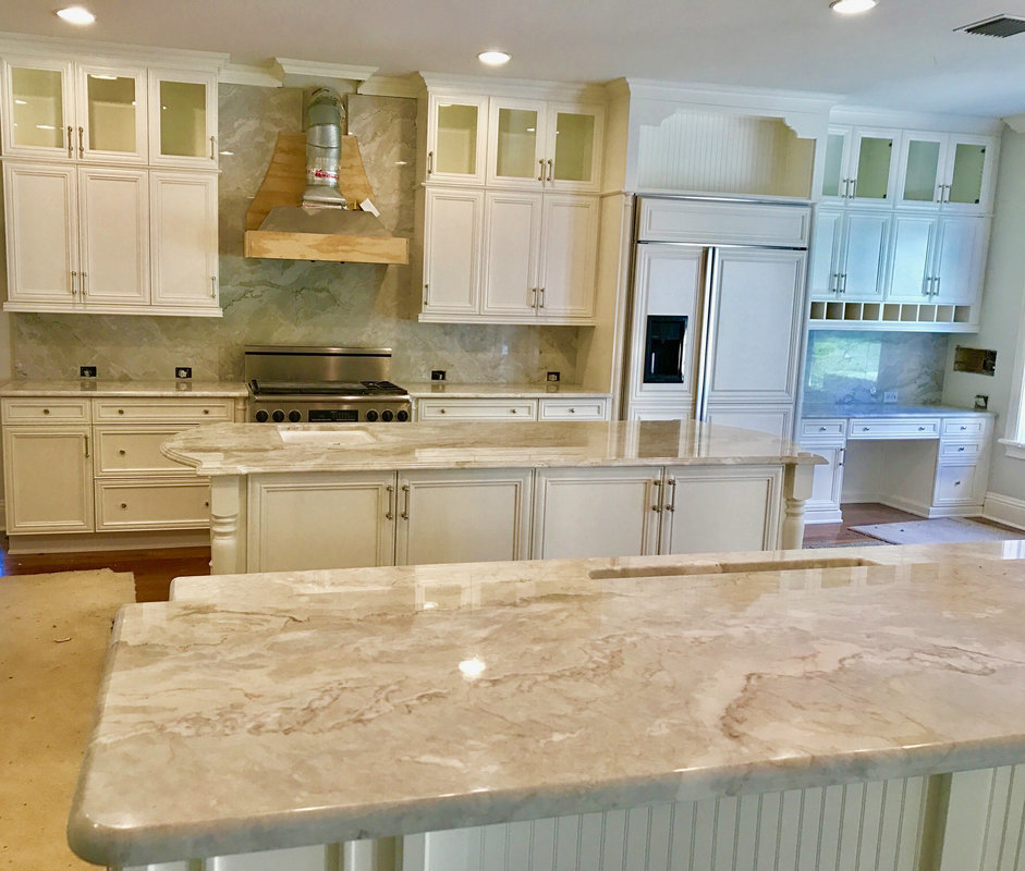 Granite Countertops, Kitchen Countertops, Fireplaces in