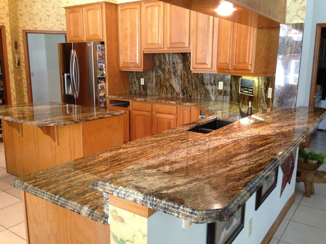 Popular Granite Countertop Configurations Orlando: Kitchen Remodel In Orlando, FL
