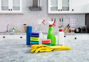 how to clean marble countertops orlando